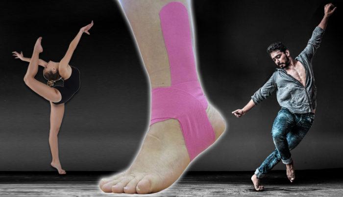 Imagen que ilustra el artículo que hace referencia a la mejora del equilibrio en bailarines de danza moderna tras uso de kinesiotaping y entrenamiento propioceptivo